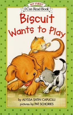 Biscuit Wants to Play By Capucilli, Alyssa Satin/ Schories, Pat (ILT)